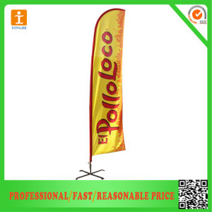Custom Logo Advertising Flying Flag Banner (TJ-07) pictures & photos