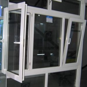 PVC/UPVC Tilt and Turn Glass Window