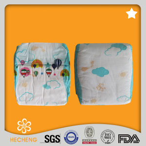 Economic Disposable Baby Diaper with Cute Printed Wholesale for Baby pictures & photos