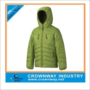 Mens Hooded Goose Down Winter Jacket with Ultra Light Padding pictures & photos