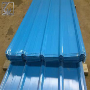 SGCC 914mm Width Prepainted Galvanized Corrugated Steel Sheet pictures & photos
