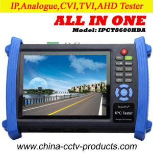 "7"" Analog, Ahd, Cvi, Tvi Cameras CCTV Test Monitor (IPCT8600HDA) pictures & photos"