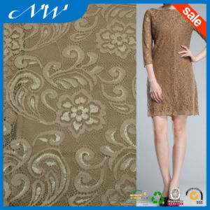Factory Price Latest Designs Hot Selling Fashion Iridescent Lace Fabric