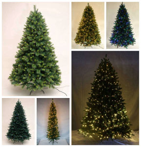 Yiwu Factory Direct Sale Pvc Pre Lit Christmas Tree