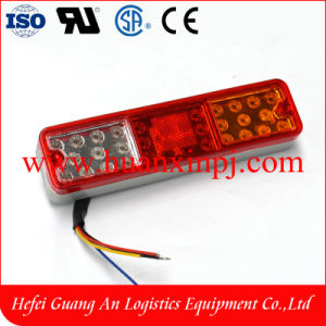 Forklift Truck Spare Parts 3 Colors LED Tail Light 12-24V pictures & photos