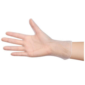 Disposable Powder Free PVC Vinyl Work Gloves pictures & photos