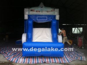 Inflatable Frozen Carriage Bouncy Slide Combo for Kids