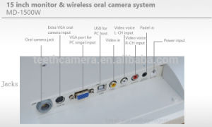 Intraoral Camera System Dental White Monitor with Ce, FCC pictures & photos