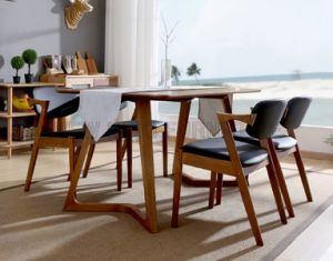 Simple European Dining Room Furniture Dining Table (NK-DTB084)