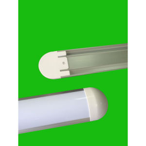LED Dust Proof Wide Tube Light-Round Cap--36W-1.2m