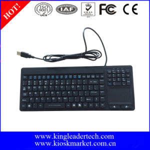 USB Silicone Keyboard with Touchpad and Function Keys