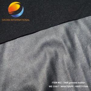 High Quality Synthetic Leather of Garment with Embossed Surface Fac29 pictures & photos