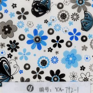 Tsautop 0.5/1m Width Flower Water Transfer Film Hydrographic Film pictures & photos