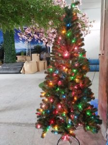 PE PVC Christmas Tree with LED Light