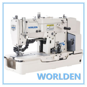 Wd-781 High-Speed Straight Button Holing Industrial Sewing Machine pictures & photos