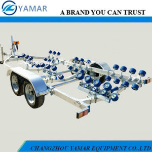 7.1m Heavy Duty Double Axle Boat Trailer pictures & photos