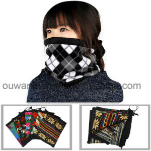 Custom Size Unisex Polar Fleece Face Mask Seamless Neck Warmer for Winter pictures & photos