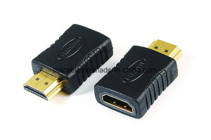 HDMI Male to Female Adapter pictures & photos