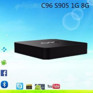 2016 Hot Player Video C96 S905 1g 8g Download User Manual for Android Kodi 16.0 TV Box pictures & photos