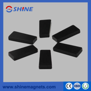 Black Epoxy Plated Sintered NdFeB Trapezoidal Magnet pictures & photos
