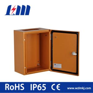 Control Box with Orange Colour and Metal Lock