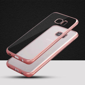 Wholesale Brand New Electroplating TPU Case for Samsung S7