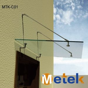 Modern New Style Metal Door Porches and Canopies Porch Canopy Kits System