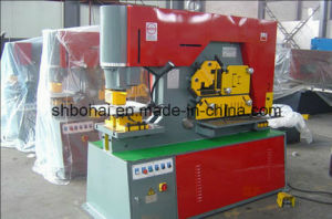 Universal Multi-Function Hydraulic Combined Punching and Shearing Machine Iron Worker Machine pictures & photos