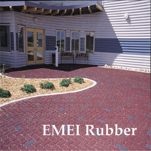 Rubber Garage Tiles/Rubber Garage Bricks/Garage Floor Mat pictures & photos