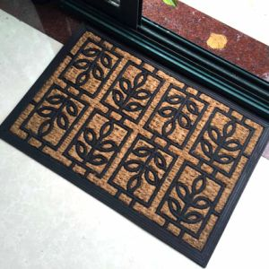 Natural Fiber Coco Tree Palm Embossing Engraving Moulding Weave Coco Coir Coconut Doormats pictures & photos