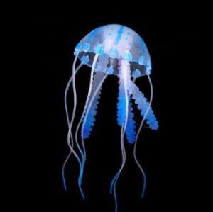 Silicone Aquarium Decoration Jellyfish Toy For Tank