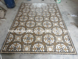 Stone Mosaic Floor Tile Marble Mosaic Pattern (STP88) pictures & photos