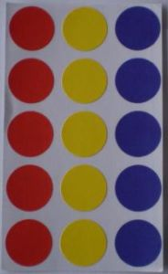 3-Color DOT Labels