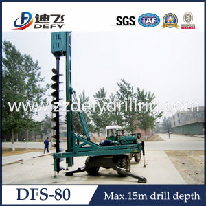 Auger Bore Pile Drilling Rig for Construction Foundation pictures & photos