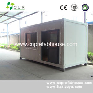 20ft Moveable Water Proof Prefab Container House pictures & photos