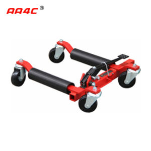 AA4c 12 Inches   Car Dolly Car Wheel Moving Dolly Vehicle Positioning Jack 4 Wheels Dolly