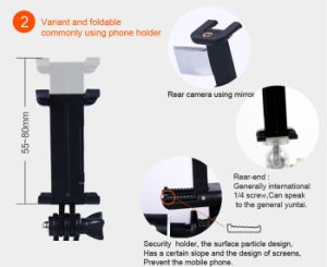 Bluetooth Selfie Stick Rk89e Selfie Kit 6 In1 Sturdy Monopod (OM-RK89E) pictures & photos