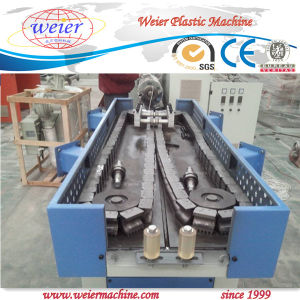 PP, PE, PVC Plastic Single Wall Corrugated Pipe Production Line pictures & photos