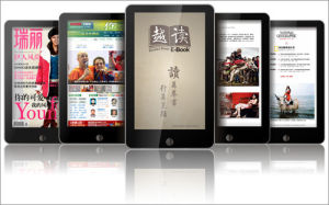 7 Inch Touch Screen Ebook Reader