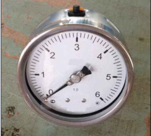 Y100 All Stainless Steel Pressure Gauge pictures & photos