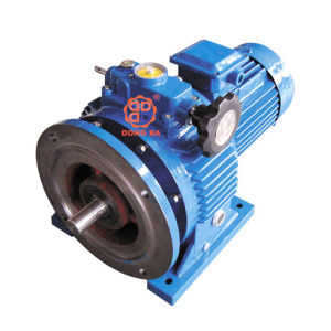 Cone-Disk Planetary Stepless Gear Reducer Motor