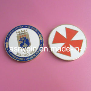 Brass Mint Bespoke Hard Enamel Coin pictures & photos