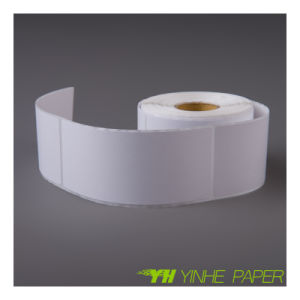 White Roll Label Thermal Self Adhesive Sticker for Logistics