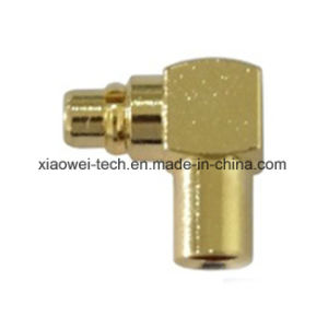 MMCX Male Right Angle Connector for Rg405 Cable