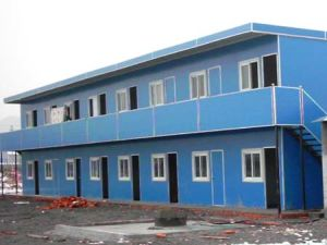 Sandwich Panel House for Temporary Residence