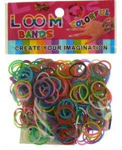 "DIY Rainbow Loom Rubber Bands Bracelet with 300PCS in a Bag ""Hot Sale"""