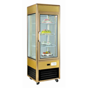Ce Approved One Door Upright Cooler Refrigerated Showcase pictures & photos