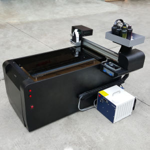 Wood and Tile Printing A2 Size Digital UV Flatbed Printer pictures & photos