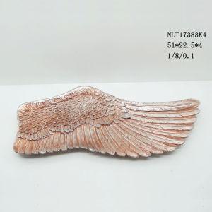 Hot Design Resin Metal Angel Wings Figure Wall Decor Decorations