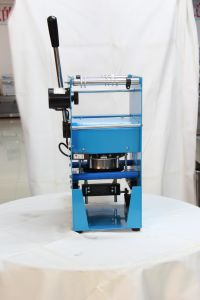 Semi-Auto Cup/Tray/Bow Sealing Machine (ET-B7) pictures & photos